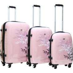 (Limited Supply) Click Image Above: Calpak Bangkok (women's) - Pink Cute Luggage, Best Luggage, Vintage Luggage, Travel Luggage, Luggage Bags, Travel Bags, High School Bags, Hardside Luggage Sets, 3 Piece Luggage Set