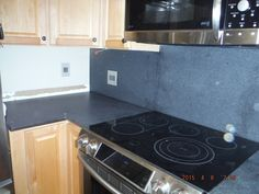 Meteorite White Granite Kitchen Countertop Install For The Cates Family Knoxville 39 S Stone
