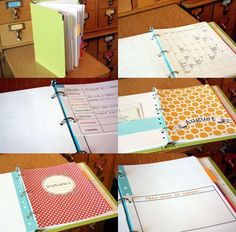 Love this site! And this personalized planner idea.