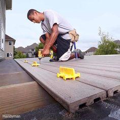 Deck Board Spacers #deckbuildingtools