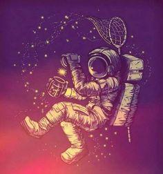 Flotar, volar en el espacio!