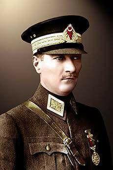 Türkiye Cumhuriyetinin bu günlere gelmesine vesile olan Mustafa Kemal Atatürk u ölümünün 78. Yıldönümünde onu ve silah arkadaşlarını rahmet ve minnetle yaa ediyoruz.