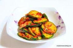 Seasoned Cucumber, Oi-muchim | Crazy Korean Cooking