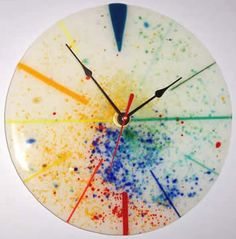 Marlow Glass Arts :: Clocks :: Frit