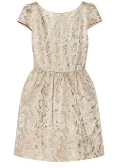 Alice and Olivia Nelly metallic jacquard dress, $276.50, http://www.net-a-porter.com/am/product/455078