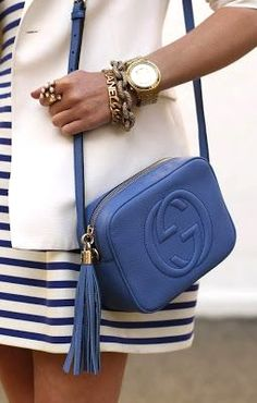 Gucci and stripes.
