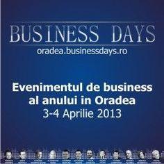 Oradea Business Days - beneficii pe 3 planuri | Bogdan Pater Business Day, Events, Workers Day