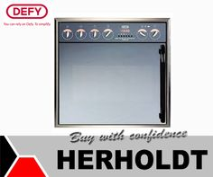 The #Defy Gemini Master Chef Multifunction Oven has and air-cooled oven door, an extremely large oven capacity, thermofan and it is a multifunction oven. Get it now at #Herholdt. #appliances
