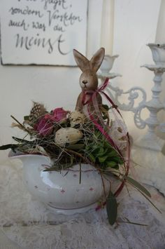 You won't locate them in that the Bible, but most cherished Easter customs have been in existence for centuries. Easter Table Decorations, Christmas Decorations, Holiday Decor, Easter Decor, Table Vintage, Easter Flowers, Easter Celebration, Hoppy Easter, Easter Holidays