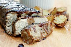 Brown Sugar and Balsamic Glazed Pork Loin