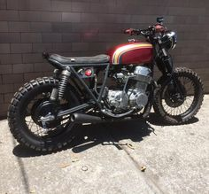 Tailor made 1976 CB750 #hondabrat by Soul Motor Co. in Mexico City http://facebook.com/hondabrats