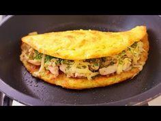 Potato Recipes, Chicken Recipes, Yum Yum Chicken, Quesadilla, Spanakopita, Omelette, Main Dishes, Good Food, Easy Meals