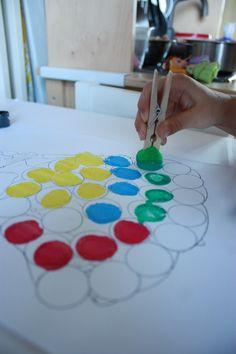 IMG_9592 Dot painting with pompoms! play hood.wordpress.com
