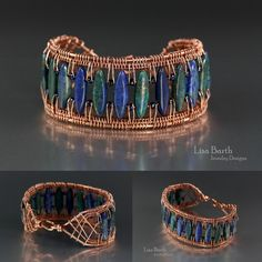 Want to learn how to do this?  I had many people ask me for a tutorial.  I just finished it.   Here is the link:  https://www.etsy.com/listing/483371919/the-snake-weave-border-bracelet?ref=shop_home_active_1