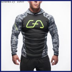 Cheap mens sportswear, Buy Quality fitness hoodie directly from China sportswear men Suppliers: NEW Hoodies camisetas masculina hombre coat Bodybuilding and fitness hoodies Sweatshirts Muscle men's sportswear Hoodie Sweatshirts, Sweat Shirt, Camouflage Sweatshirt, Camouflage Hoodies, Fitness Man, Hoodie Jacket, Snapback, Crossfit, Men Casual