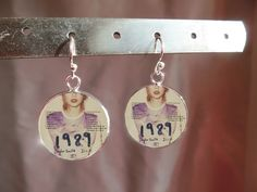 Taylor Swift 1989 Earrings - Every Swiftie needs a pair of Taylor Swift 1989 earrings! This gift will make them feel so thrilled you got them such a personalized gift.