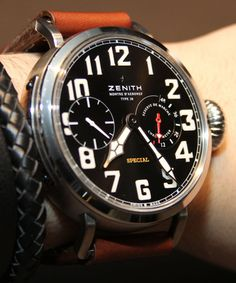 Zenith Pilot Montre d'Aéronef Type 20 Watch Hands-on With Video | aBlogtoWatch