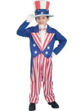 Uncle Sam Costume for Boys - Party City