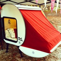 Wow! Glamping is easy with this camper! Simple and easy design!