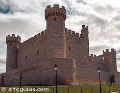 Castillo de Olmillos de Sasamón. Burgos, ES