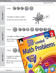 This #differentiated lesson requires students to solve problems using coins to buy things! Grade: 2 #math