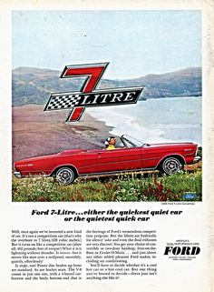 https://flic.kr/p/Jqy3P7 | 1966 Ford 7-Litre Convertible