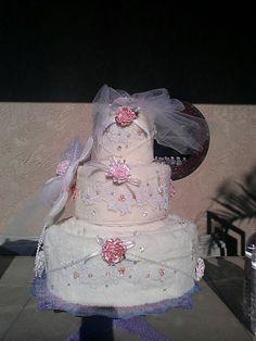Wedding Towel Cake Bridal Shower