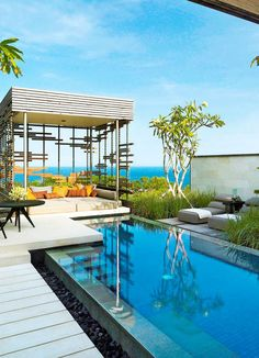 Alila Villas Uluwatu****** #Indonesien #Bali #Uluwatu #PrivatePool #TUI #DiscoverYourSmile Alila Villas Uluwatu, Private Pool, Bali, Outdoor Decor, Home, Beautiful Hotels, Indonesia, Viajes, Ad Home