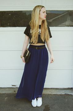 Dimepiece T Shirt, Forever 21 Skirt, Vintage By Fe Clutch, Keds Shoes