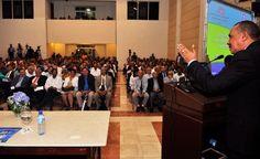 El director del INDRHI expresó sus consideraciones al exponer en la apertura del seminario ¨Perspectiva y Soluciones del sector Hídrico en la República Dominicana¨