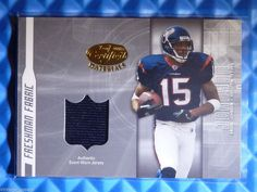 2003 Certified Materials ANDRE JOHNSON Freshman Fabrics Rookie Jersey RC #FF-165 #HoustonTexans #IndianapolisColts @ebay