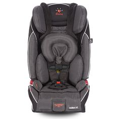 Radian rXT all-in-one convertible car seat. Lovingly engineered with a full steel frame for unmatched safety. Birth to booster coverage. Fits 3 across.