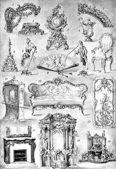 Barokki kalusteet kiehtoo