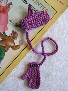 Mr. Micawber's Recipe for Happiness: Mrs. M's Free Patterns: Other Accessories & Doodads