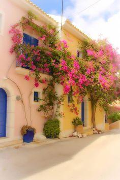 Greek Village Houses