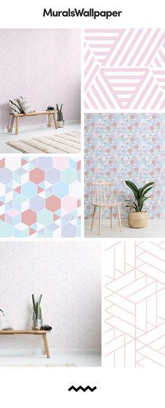 Diese Rosa Geometrische Hintergrund Ideen Sind Voller Farbe Und Muster  Inspiration, Einen Schub Von Frische In Jeden Raum Zu Bringen, Die Sie In  Installiert ...