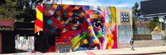 Los Angeles by Eduardo Kobra (SP,Brasil)