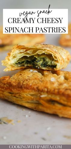 These spinach and caramelised onion puff pastries are incredibly easy to make! A creamy filling stuffed between a crunchy, flaky pastry… GIMME!