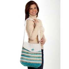 "Free pattern for ""Circles & Stripes Tote Bag""!"
