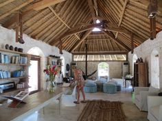 Library at #NorthIsland #Seychelles