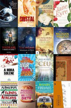 Bloguinhas Paradise: Novas Aquisições: Dezembro - Abril