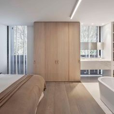 Stylish Interiors by Obumex - Your source of Architecture and Interior design news! Interior Design Companies, Minimalist Interior, Bruges, Apartment Design, Contemporary Interior, Interiores Design, Home And Living, Home Furniture, Kitchen Furniture