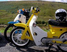 Honda Cub ride - Widdop Moor