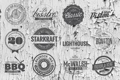 [50% OFF] Vintage Logos Templates by DesignSomething on Creative Market