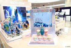 비오템 수분크림과 에센스로 겨울철 피부관리! : 네이버 블로그 Pos Display, Display Screen, Product Display, Cosmetic Display, Cosmetic Shop, Catwalk Design, Beauty Illustration, Exhibition Display