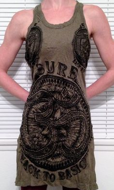 OHM Tank Top  Yoga Hoodie octopus soft comfy octopus by HighThai, $23.99