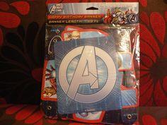 Marvel Avengers Assemble Birthday Party Banner Supplies USA Seller #DesignWare #BirthdayChild