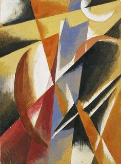 Lyubov Popova - Composition, (c. 1920)