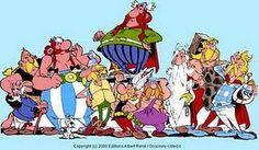 Asterix y Obelix Asterix E Obelix, Albert Uderzo, Tv Movie, Jordi Bernet, Cartoon Wall, Lucky Luke, Tattoo Project, Comic Styles, Space Crafts