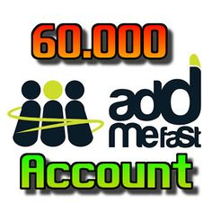 AddMeFast Account - 60.000   Points 2017 for $5